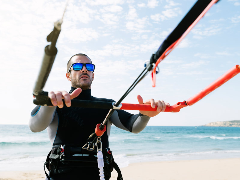 Kite Surfing at Thyme & Beyond Hotel - Wales